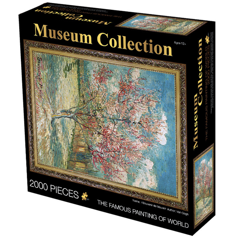 2000 pieces Puzzle in a Box Museum Collection